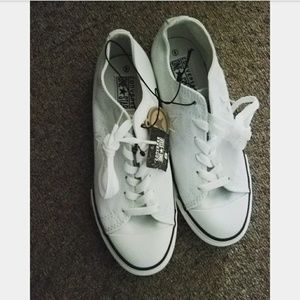 One Star White Converse Shoes